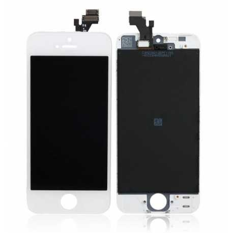 Pantalla Completa Display Retina Iphone 5 5GLCD Tactil BLANCA