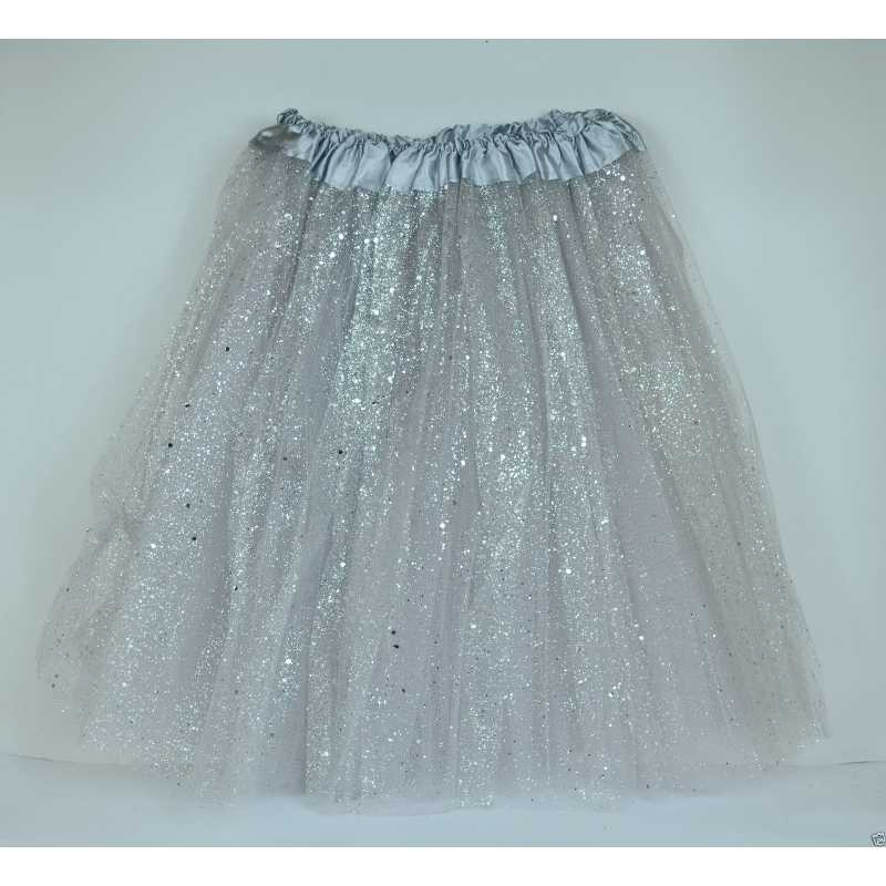 d2a44bd55d ... TUTU elastico tul 3 capas para adulta distintas COLORES falda disfraz  ballet ...