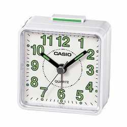 Reloj despertador Casio TQ-140- 7EF- Cuarzo Blanco