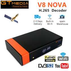 Gtmedia V8 Nova DVB-S2 Satellite TV Receiver Built Wifi Full HD