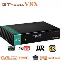 DVB-S2 Freesat V8X Receptor gtmedia V8 nova Decoder DVB-S2 H.265 V8 Receive