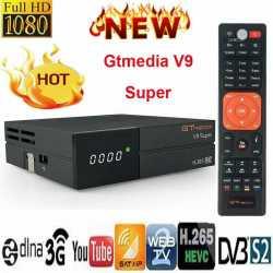 Gtmedia V9 Super Full H.265 DVB-S2 TV Satellite Receiver Receptor Buit-in WIFI