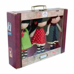 Muñeca de Trapo Gorjuss 30cm, MY HEIGHTS ,Producto Oficial Santoro London